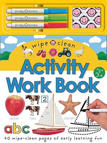 9780312497101: Wipe Clean Activity Work Book (Wipe Clean Activity Books)