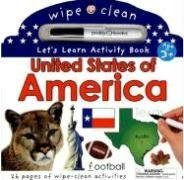 9780312497361: Wipe Clean United States Activity Atlas