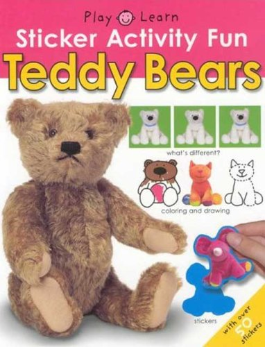 Sticker Activity Fun - Teddy Bears (Play & Learn (Priddy Books)): Priddy, Roger