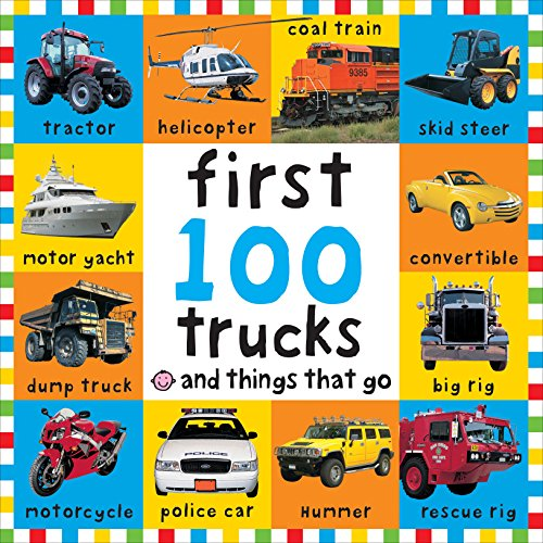 9780312498061: Big Board First 100 Trucks and Things That Go (Bright Baby)