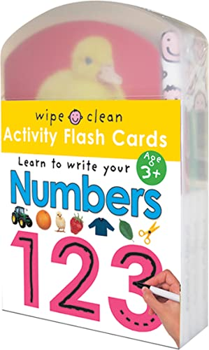 9780312498177: Wipe Clean: Activity Flash Cards Numbers