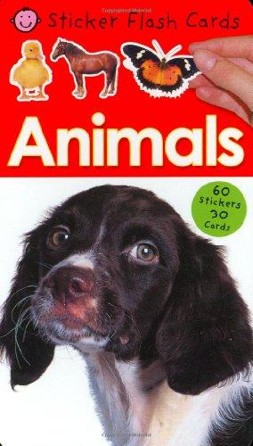 9780312498283: Animals Sticker Flash Cards