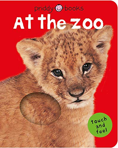 9780312498573: Bright Baby Touch & Feel at the Zoo (Bright Baby Touch and Feel)