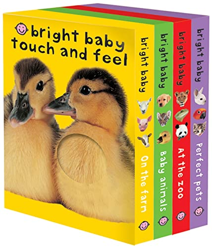 Bright Baby Touch Feel Boxed Set On The Farm Baby