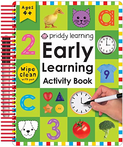 Wipe Clean Early Learning Activity Book - Numbers (Wipe Clean Early Learning Activity Books): Roger...