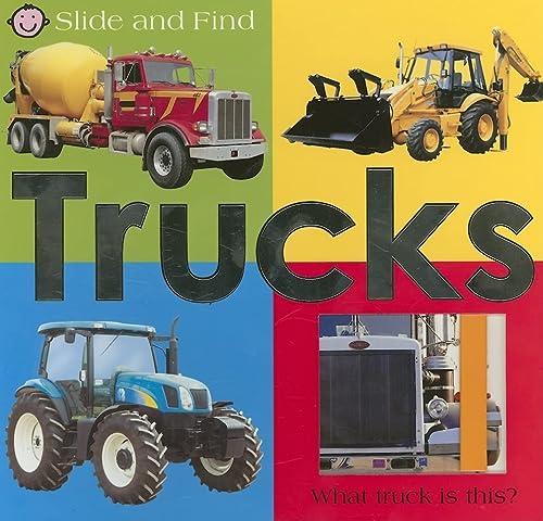 9780312499099: Slide and Find - Trucks