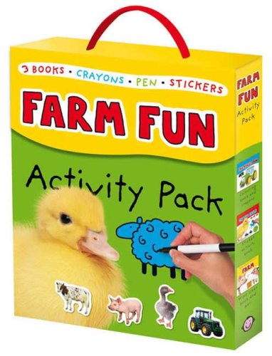 Farm Fun Activity Pack (Early Learning Activity Packs): Priddy, Roger