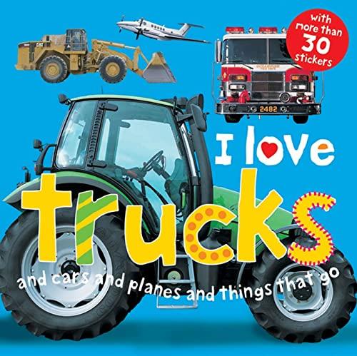 9780312499617: I Love Trucks Sticker Book