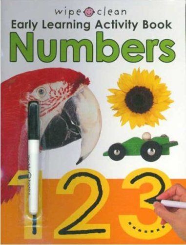 9780312499891: Wipe Clean Early Learning Activity Book - Numbers