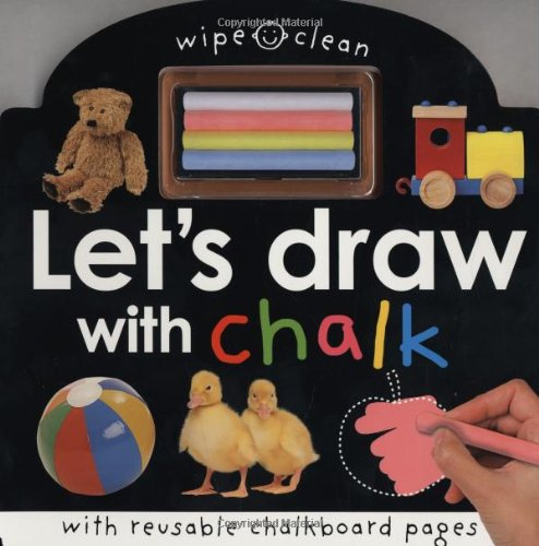 Wipe Clean Let's Draw with Chalk: Priddy, Roger