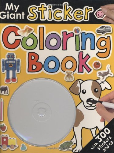 9780312500337: My Giant Sticker Coloring Book with CD 1 (Giant Sticker Activity)