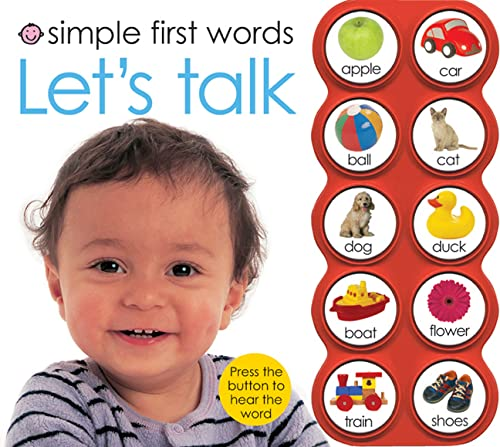 9780312500344: Simple First Words Let's Talk