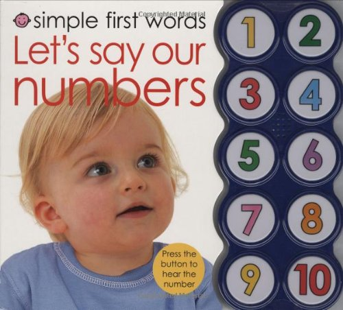 9780312500368: Simple First Words Let's Say Our Numbers