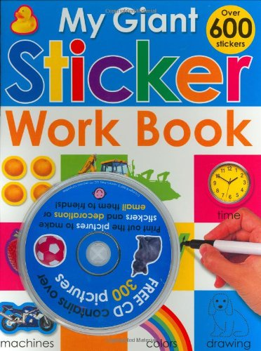 9780312500894: My Giant Sticker Work Book (with CD) (Giant Sticker Activity)