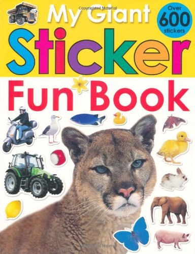 My Giant Sticker Fun Book (with CD) (Giant Sticker Activity): Roger Priddy