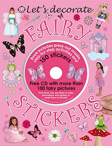 9780312501914: Let's Decorate Fairy Stickers