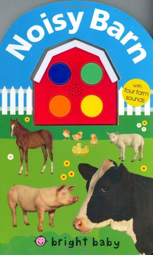 Noisy Barn: With Four Farm Sounds!: Priddy, Roger