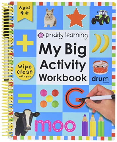 9780312502140: My Big Activity Work Book [With 2 Wipe-Clean Pens]