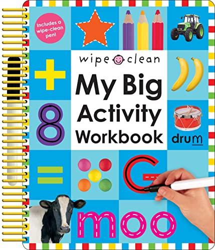 9780312502140: Wipe Clean: My Big Activity Workbook (My Big Step by Step)
