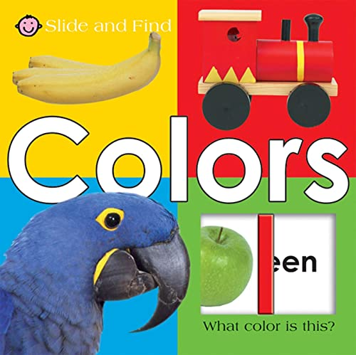 9780312502188: Slide and Find - Colors