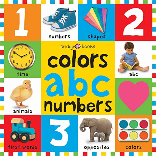 9780312502195: Bright Bbaby colors, abc, & numbers first words (First 100)