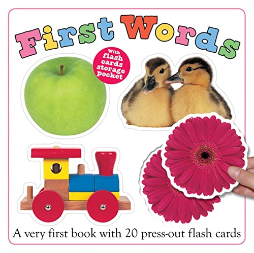 9780312502263: First Words Flash Card Book (Flash Cards and Book Set)