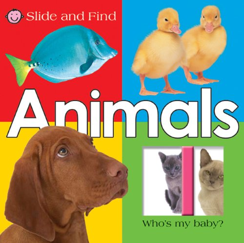 Large Slide and Find Animals: Priddy, Roger