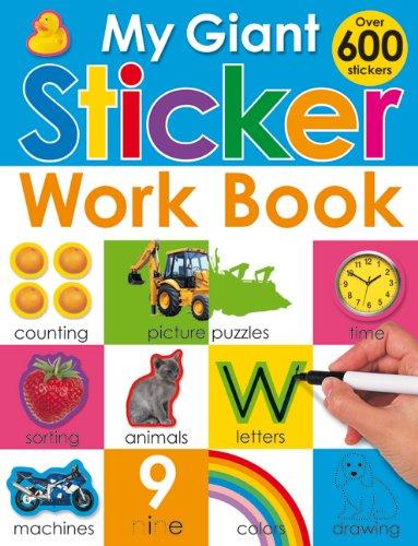 9780312504151: My Giant Sticker Work Book (w/o CD)