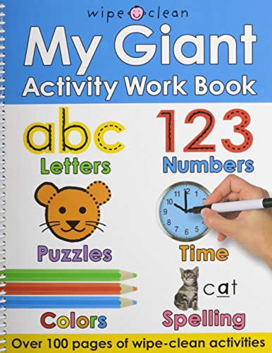 9780312504175: My Giant Activity Work Book (Wipe Clean)
