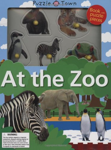 9780312504762: Puzzle Town at the Zoo [With Jigsaw Puzzle Pieces]
