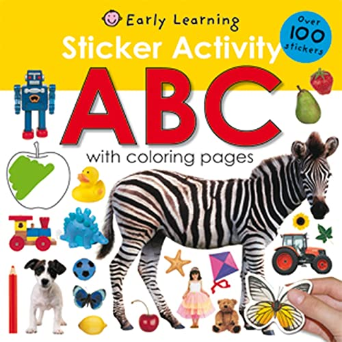 9780312504830: Sticker Activity ABC: Over 100 Stickers with Coloring Pages (Sticker Activity Fun)