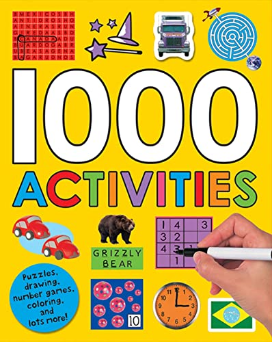 1000 Activities (Sticker Activity Fun): Roger Priddy