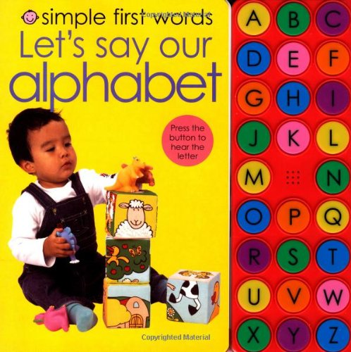 9780312506643: Simple First Words Let's Say our Alphabet
