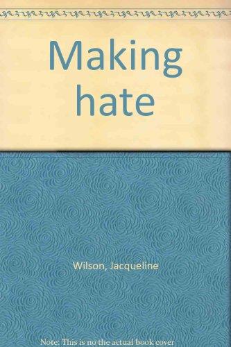 Making hate: Jacqueline Wilson