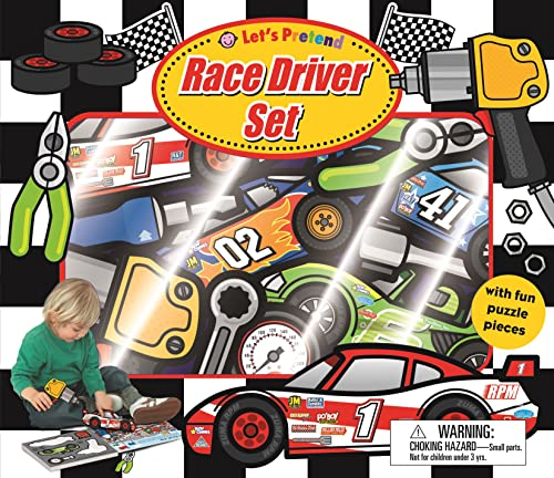 9780312507176: Let's Pretend Race Driver Set: With Book and Press-Out Pieces