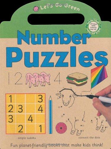 Let's Go Green Number Puzzles: Priddy, Roger