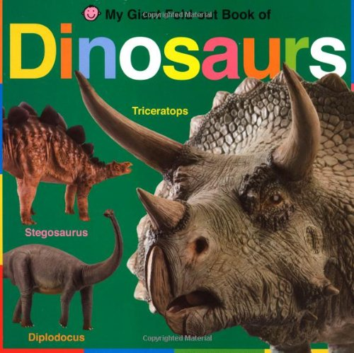 9780312508081: My Giant Fold-Out Book of Dinosaurs