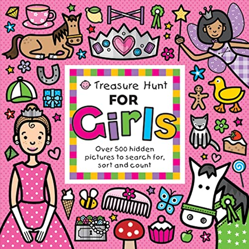 9780312508173: Treasure Hunt for Girls: Over 500 Hidden Pictures to Search For, Sort and Count
