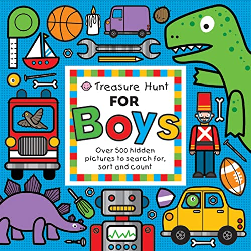 9780312508180: Treasure Hunt for Boys: Over 500 Hidden Pictures to Search For, Sort and Count