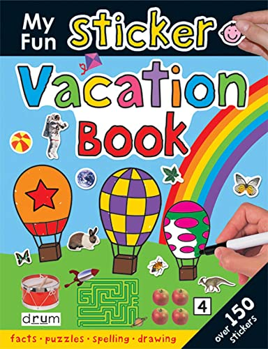 My Fun Sticker Vacation Book (Giant Sticker: Roger Priddy