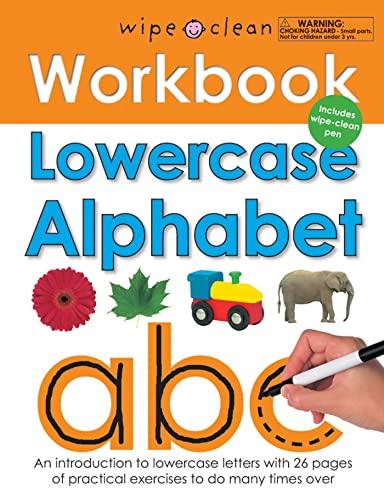 9780312508685: Wipe Clean Workbook Lowercase Alphabet