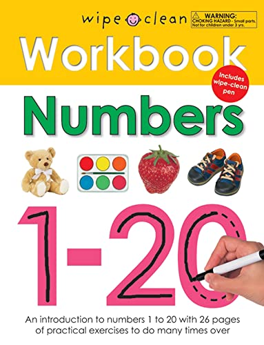 9780312508692: Wipe Clean Workbook Numbers 1-20 [With Wipe Clean Pen]