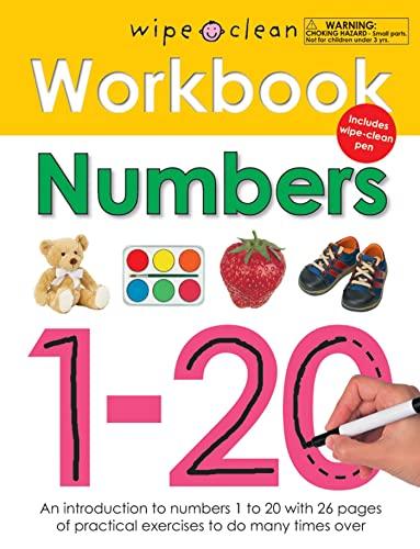 9780312508692: Wipe Clean Workbook Numbers 1-20