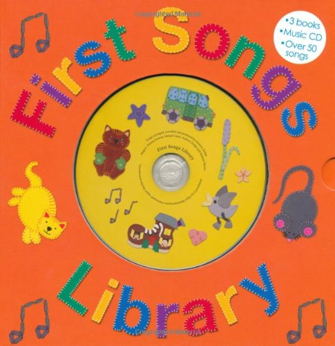 9780312508739: First Songs Library: Over 50 Songs! Includes 3 Books with a CD