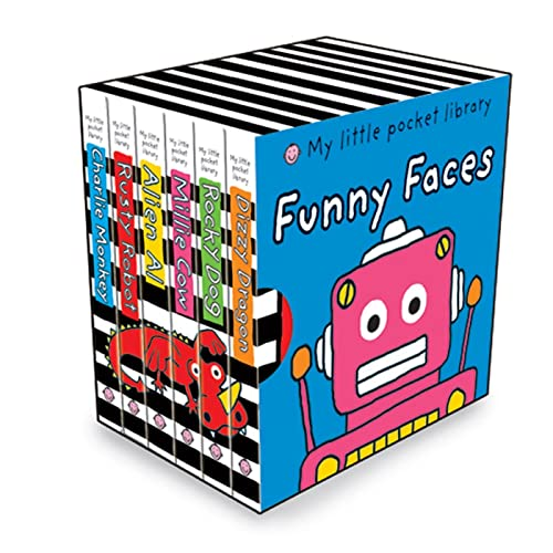 9780312509200: My Little Pocket Library: Funny Faces