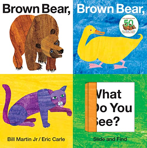 9780312509262: Brown Bear, Brown Bear, What Do You See? Slide and Find