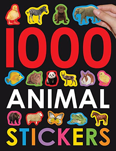 9780312509415: 1000 Animal Stickers