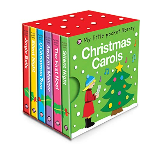 9780312509521: My Little Pocket Library Christmas Carols
