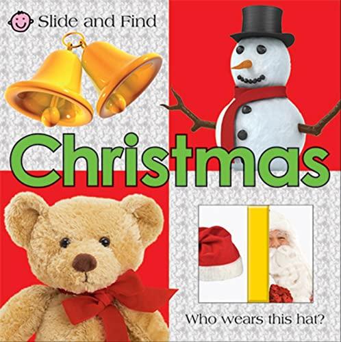 Slide and Find Christmas: Priddy, Roger