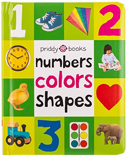 First 100 Numbers, Shapes and Colors